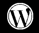 White-Wordpress-logo-613px